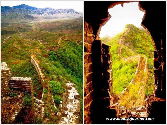 Qiang Zi Great Wall of China