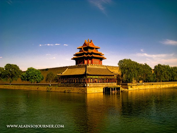 China Best Travel Photos The northwest side of the Forbidden City