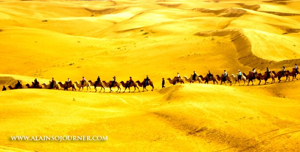 China Best Travel Photos Gobi Desert in Inner Mongolia