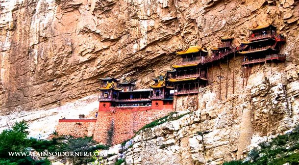 China Best Travel Photos The Hanging Monastery in Datong