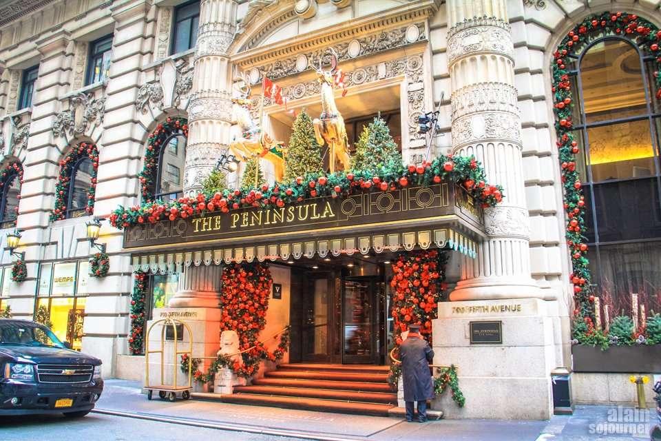 The Peninsula Hotel / Christmas in New York.
