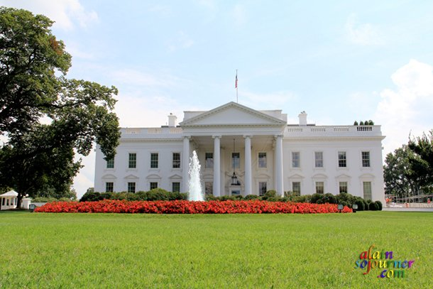 The White House in Washington DC / My 2012 Travels.