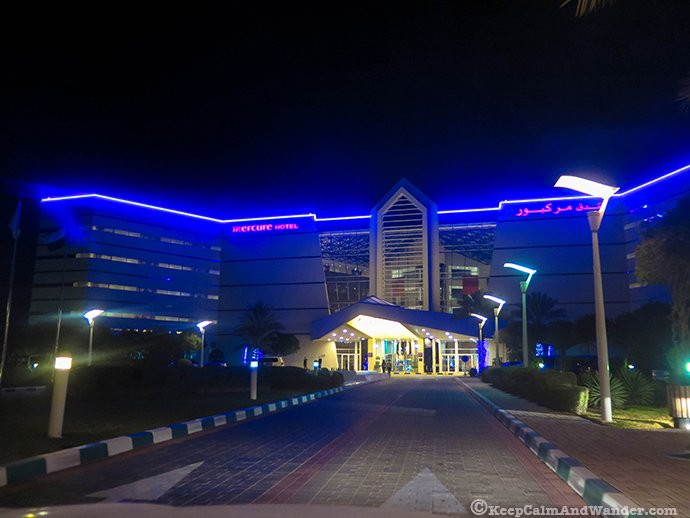 Mercure Hotel on Jabel Jafeet in Al Ain, UAE.