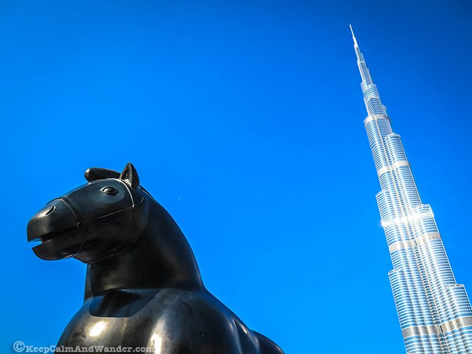 Burj Khalifa is the building with most floors!