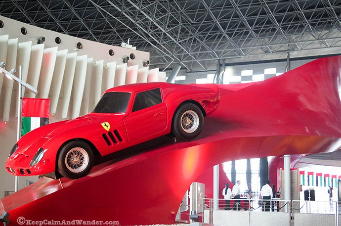 Things to do at Ferrari World in Abu Dhabi.
