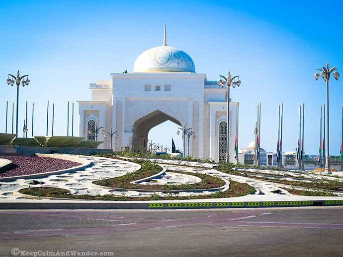 Presidential Palace, Abu Dhabi Architecture