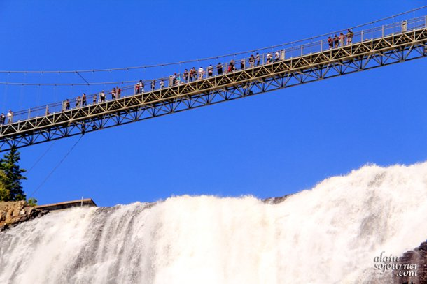 Montmorency Falls in Quebec City is 100 feet higher than Niagara Falls.
