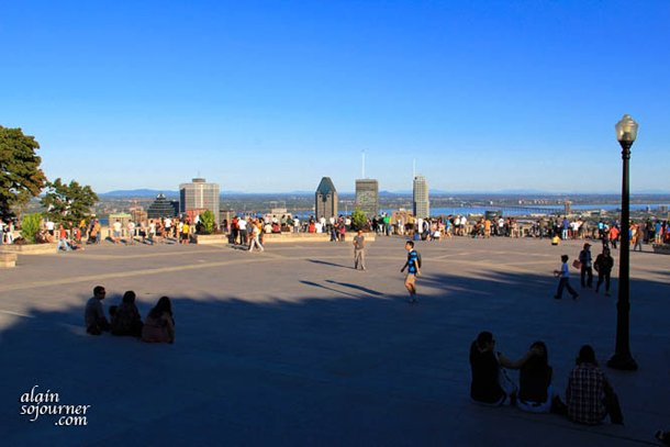 Montreal - View from Mont Royal Chalet
