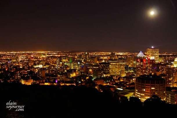Montreal Panorama at Night