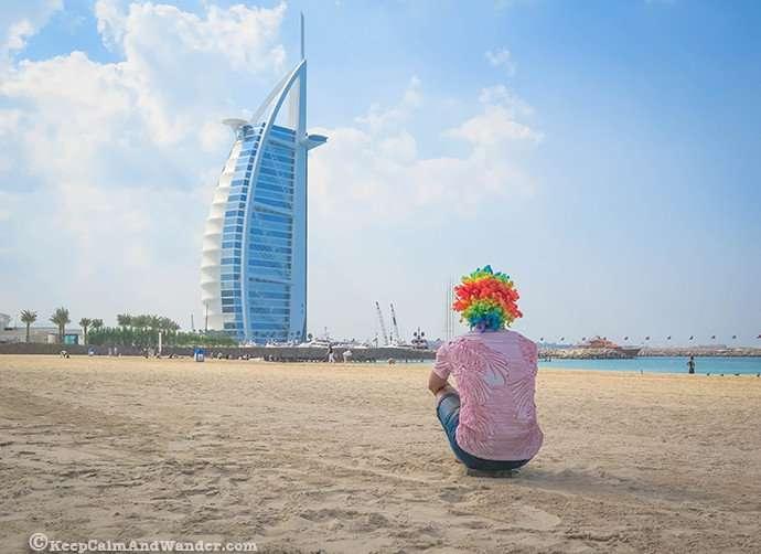 Rainbow wig Things to do in Dubai UAE