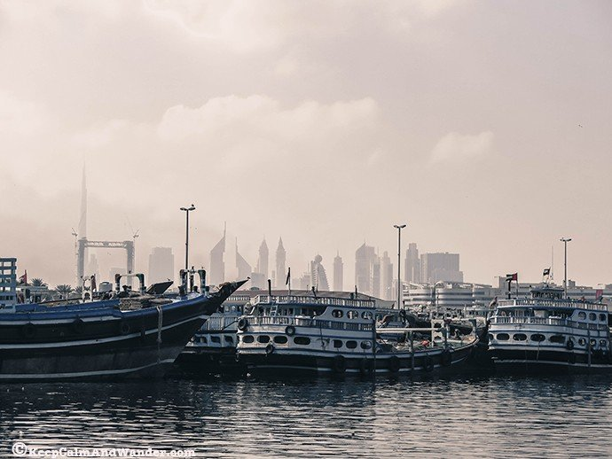 Dubai Creek View / The Old Dubai.