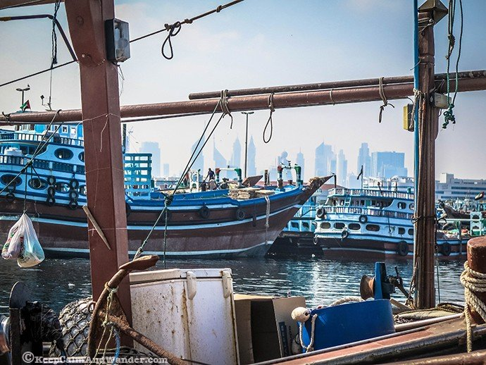 Views of Dubai Creek / The Old Dubai>