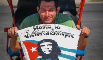 Portraits of Cuban Taxi Driver in Cienfuegos.