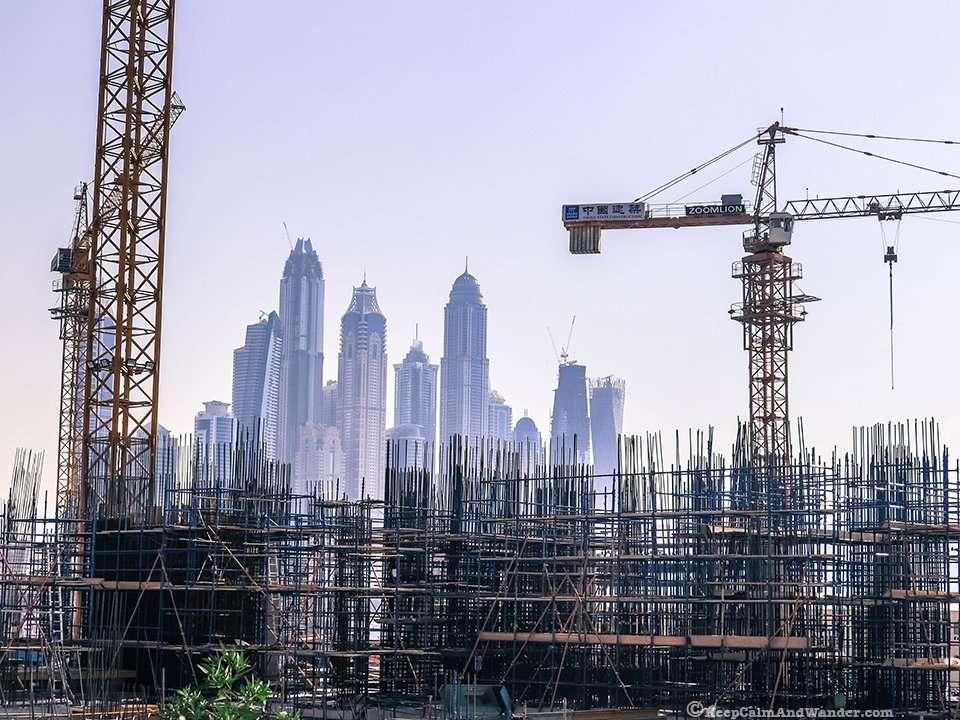 Developments In Dubai : Dubai under construction