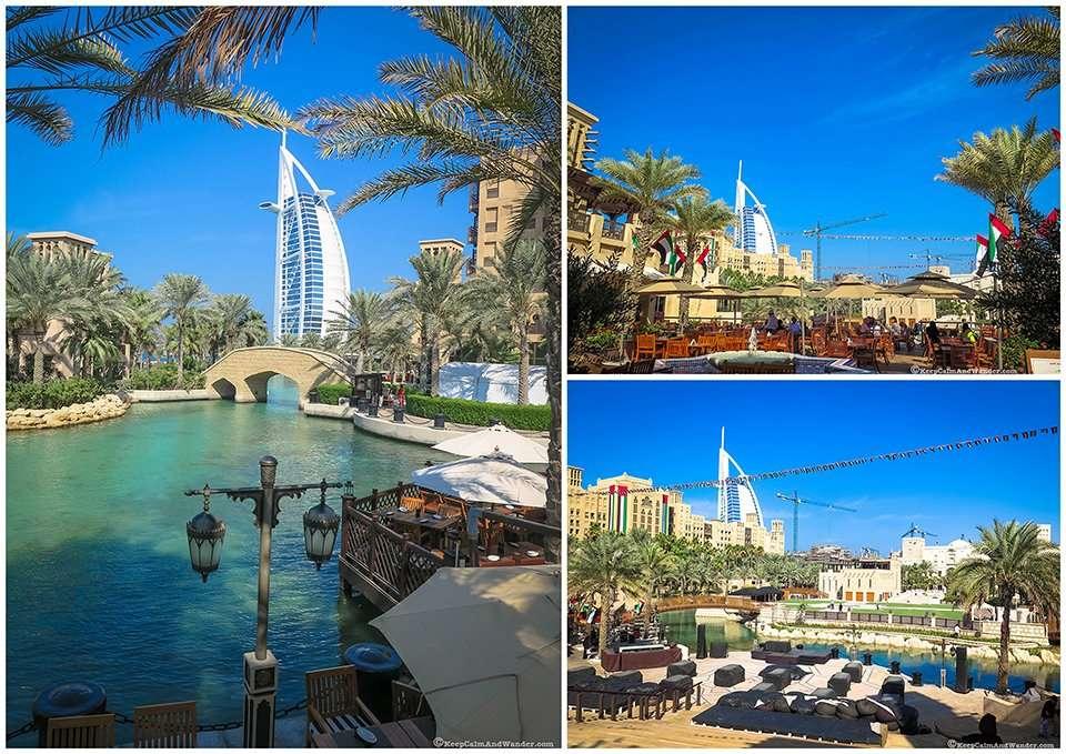 Tourist attractions in Dubai.