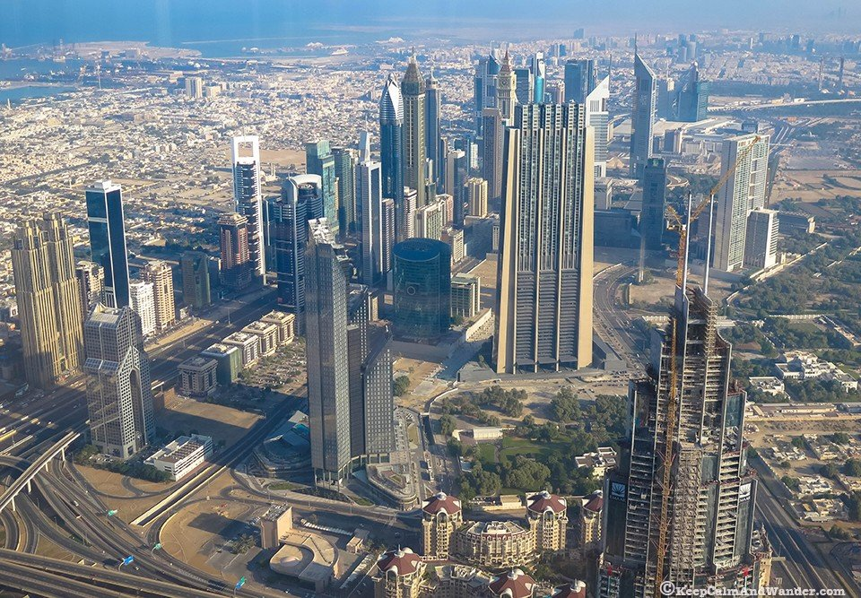 The world's tallest building / United Arab Emirates UAE