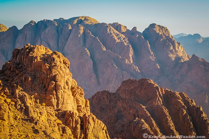 Climbing Mt Sinai - Where Moses Received the 10 Commandments
