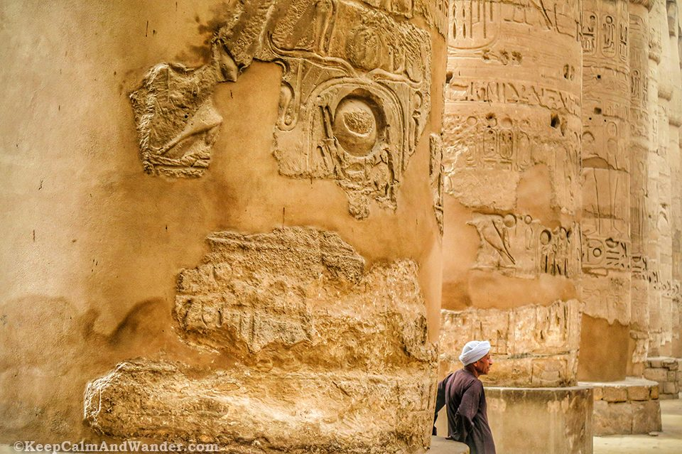 The Guards at Karnak Temple in Luxor (Egypt)