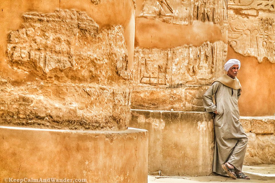 The Guards at Karnak Temple, Luxor (Egypt)