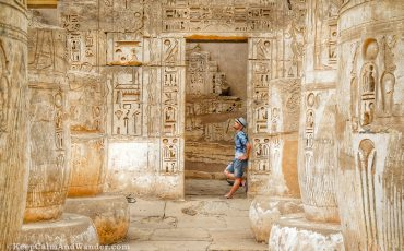 Habu Temple Luxor 7