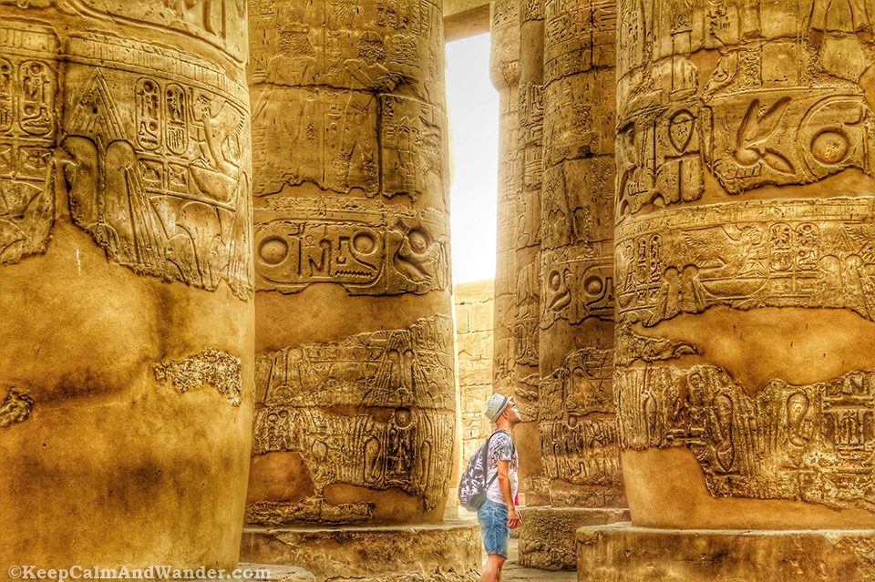 The Hypostyle Hall / Things to do in Luxor, Egypt.