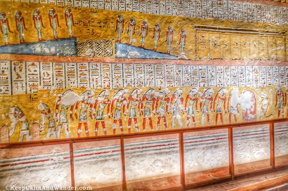 Inside the Tomb of King Ramesses IV at the Valley of the Kings