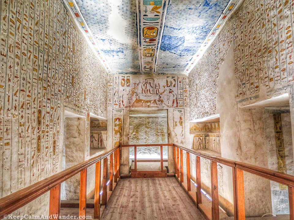 Tomb of King Ramesses IV at the Valley of the Kings