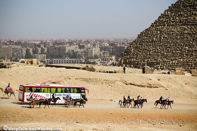 Yes, you can climb the Great Pyramids of Giza!