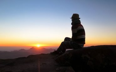 Sunrise at Mt Sinai Egypt 14