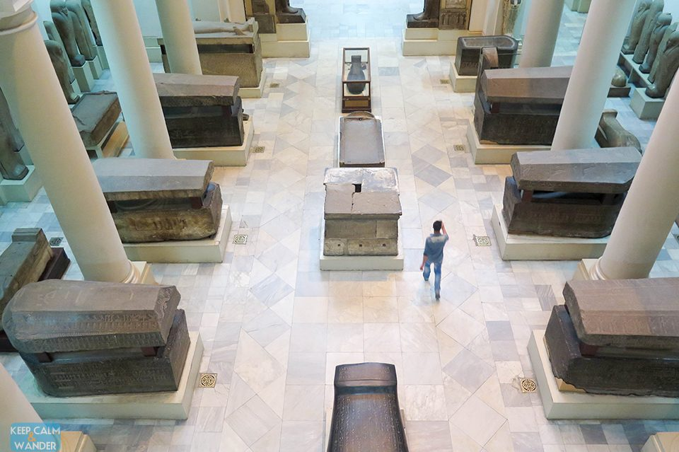 Museum of Egyptian Antiquities.