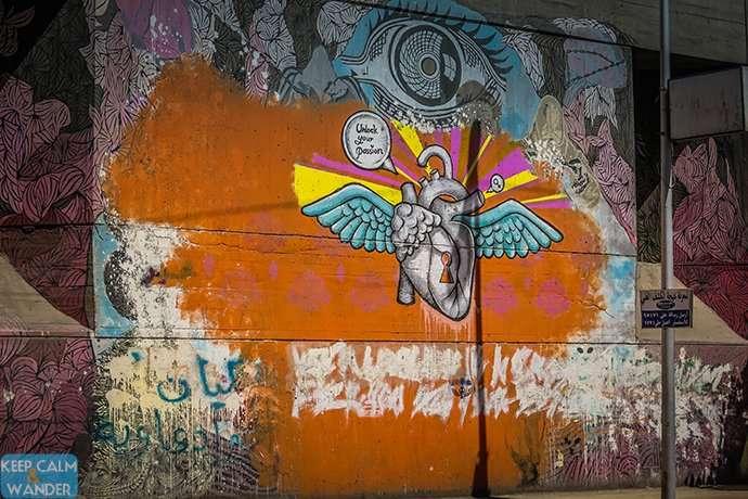 Graffiti in Cairo (around Tahrir Square)