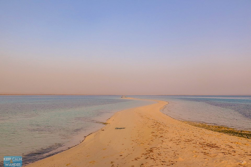 Another White Beach Island in Saudi Arabia.