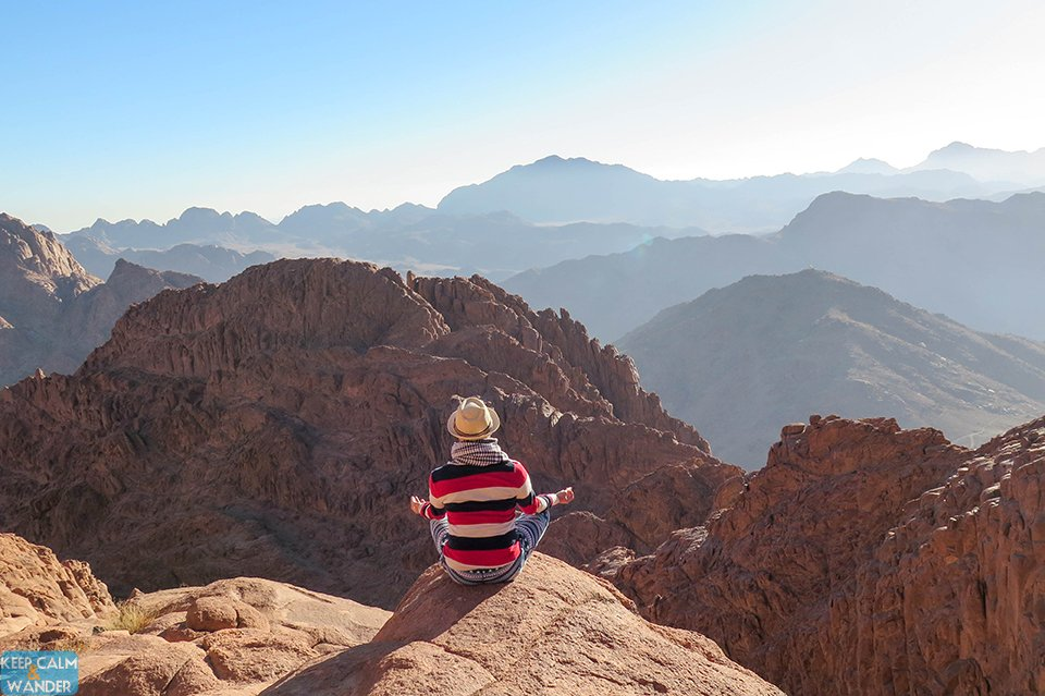 Steps of Repentance at Mt. Sinai.