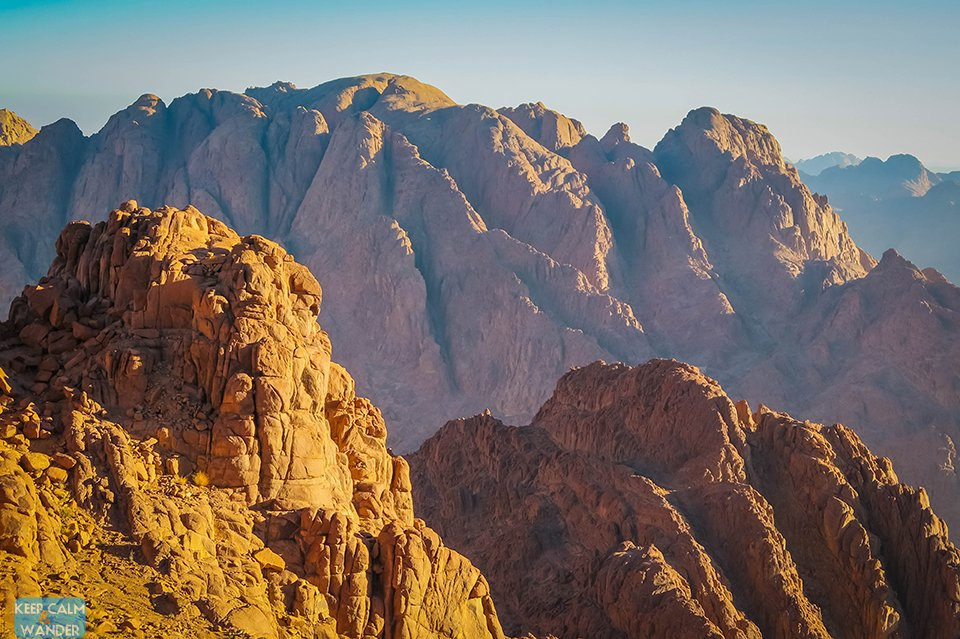 Mt. Sinai is also called as Moses Mountain because this is where Moses received God's Ten Commandments.