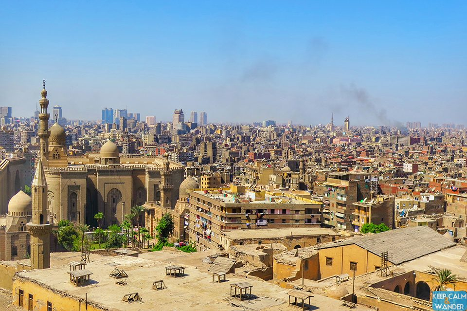 Cairo Skyline from The Citadel.