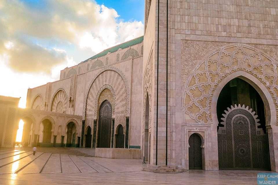Hassan II Mosque - Casablanca's Famous Landmark.