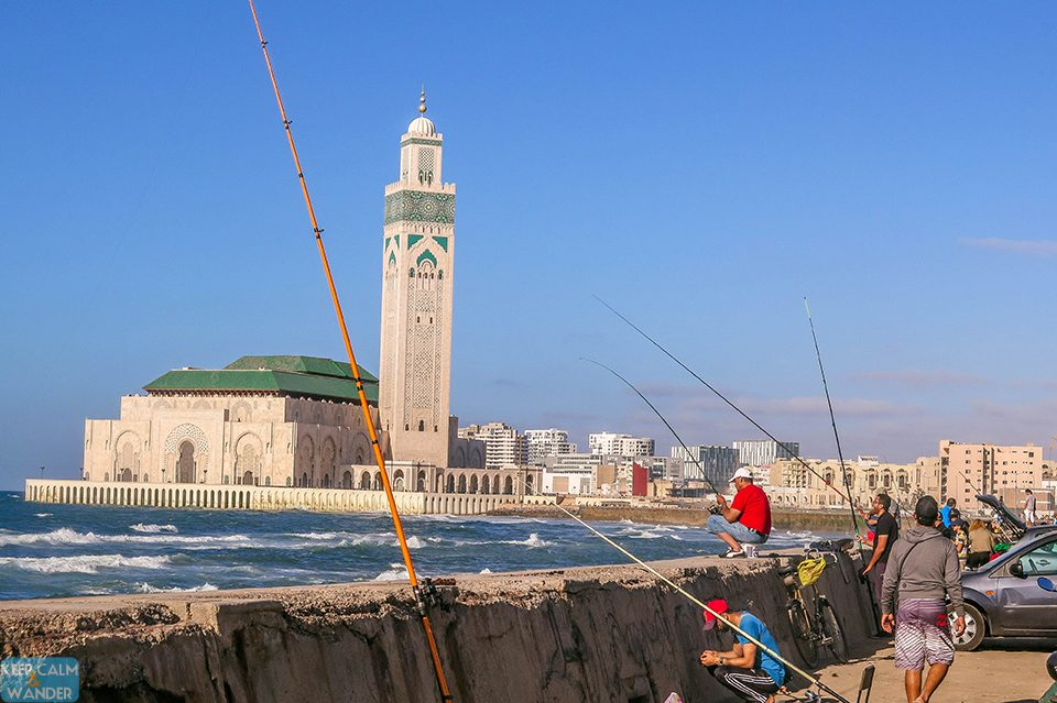 Hassan II Mosque is Casablanca's Famous Landmark.