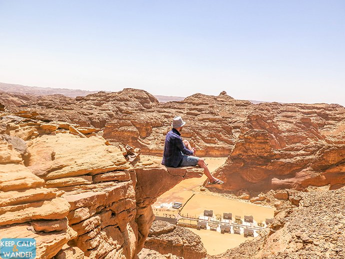 I Wore Flip Flops Climbing Mountains in Al Ula
