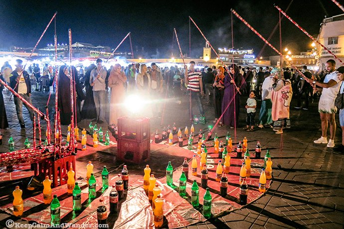 The Sights, Sounds and Tastes of Jemaa el-Fna (Marrakech, Morocco).