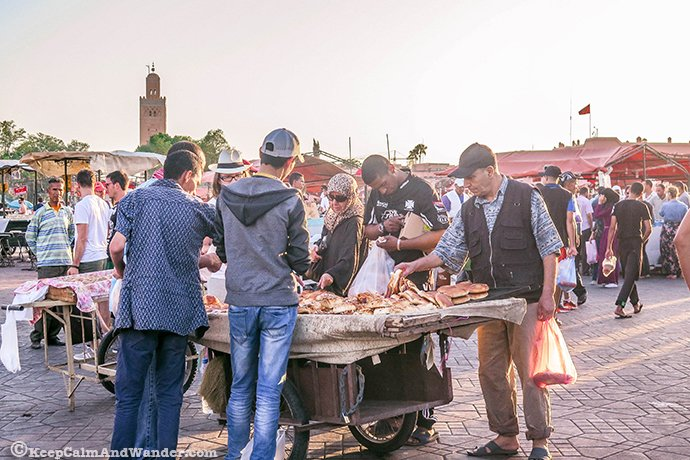 The Sights, Sounds and Tastes of Djema el-Fna (Marrakech, Morocco).