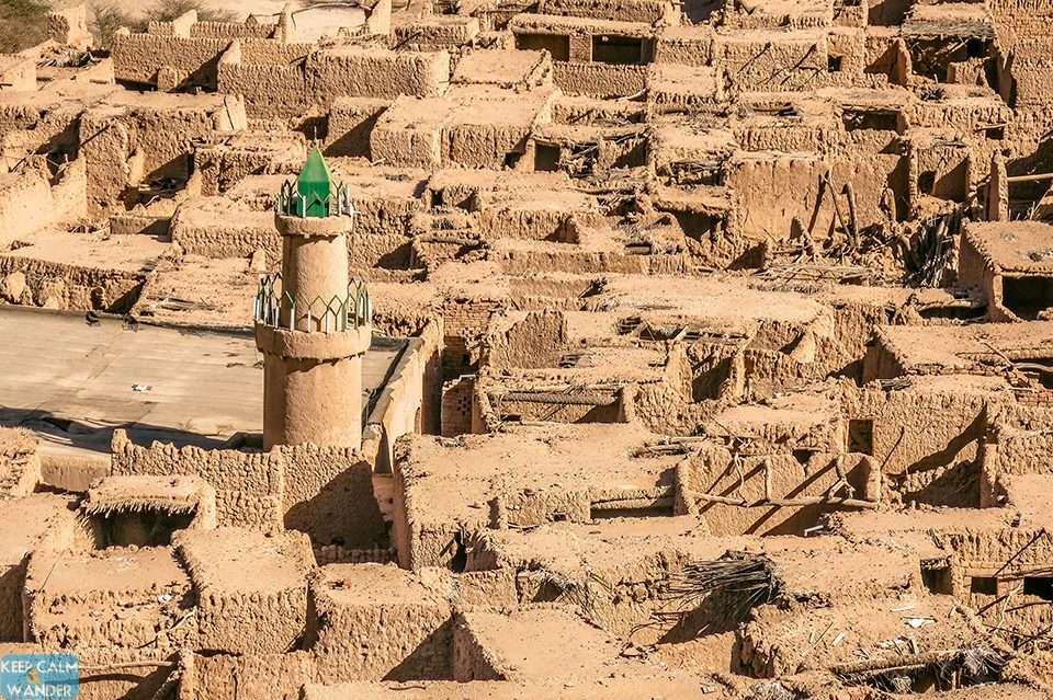 The Mosque of the Bones (Masjid Al-Izam) at Al Ulah, Saudi Arabia.