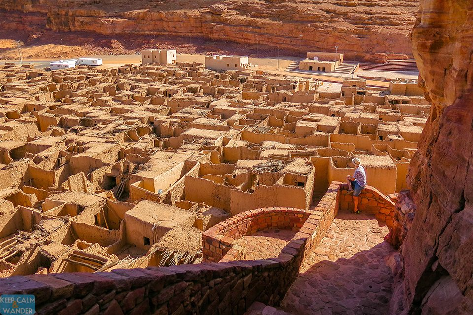 Al Ulah mud brick houses Saudi Arabia Travel