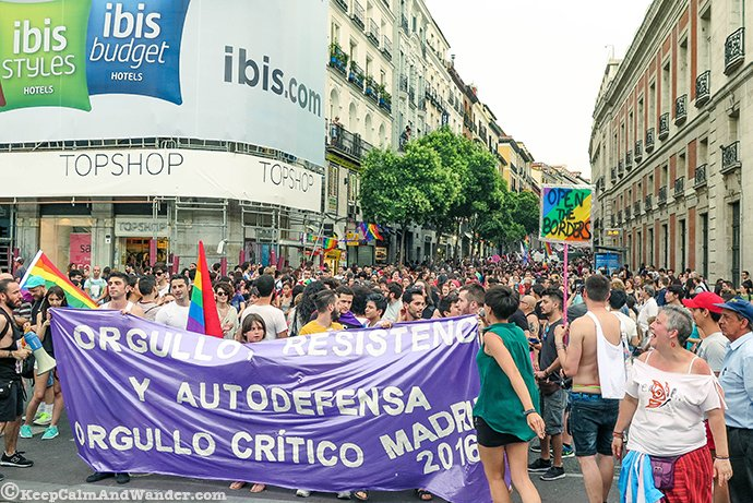 Pride Critic Madrid 2016 Orgullo