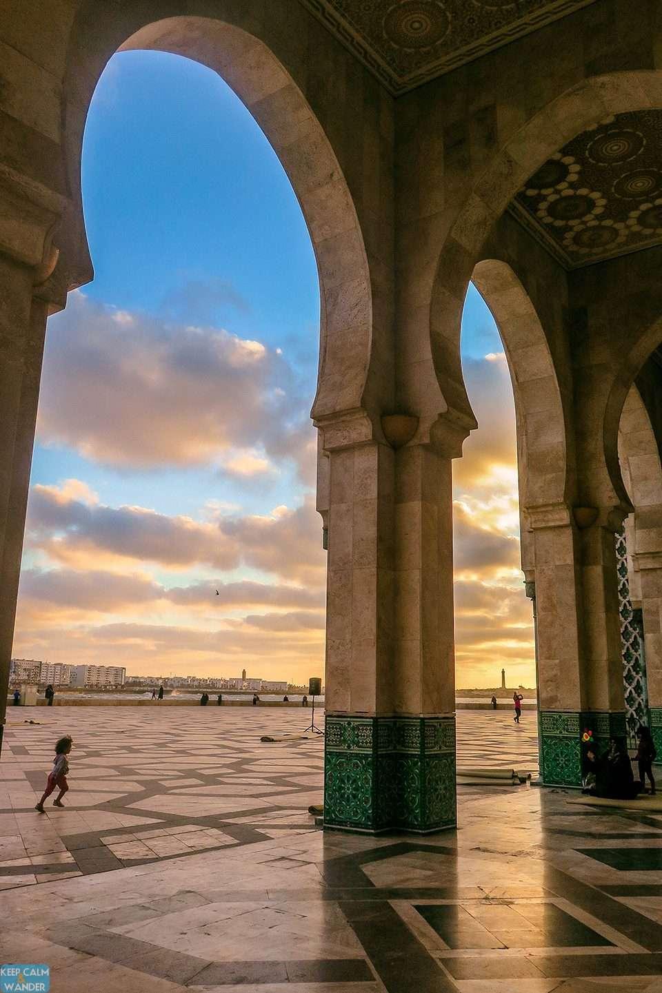 Casablanca's sunset is breathtakingly gorgeous.