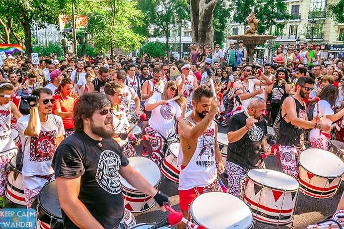 Madrid Pride Parade 2016 - Madrid Orgullo Manifestacion