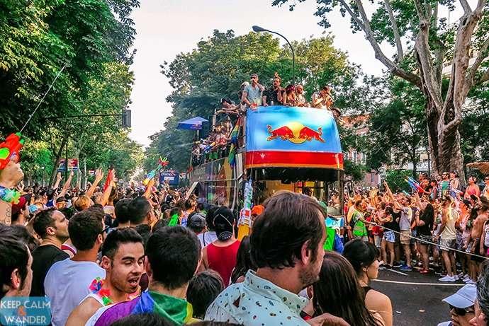 Madrid Pride Parade 2016 - Madrid Orgullo 2016 Manifestacion