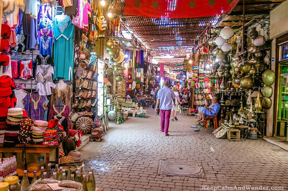 Medina in Marrakech is an Assault to the Senses (Morocco).