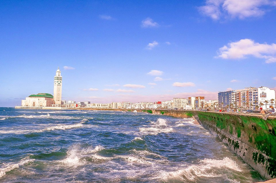 Do You Know What I Did last Summer? I visited Casablanca, Morocco.