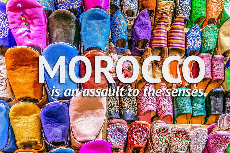 Do You Know What I Did last Summer? I visited Morocco.