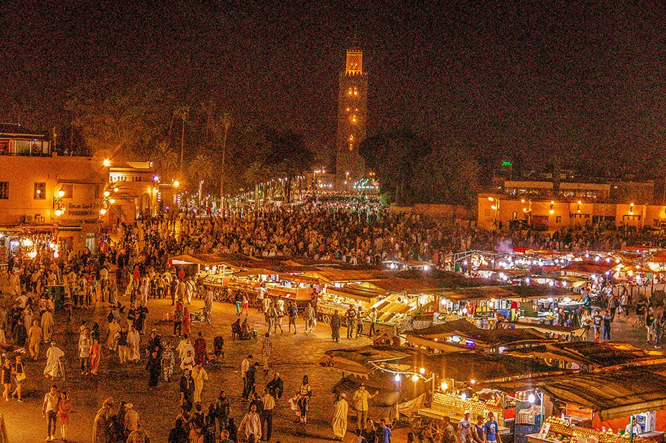 Do You Know What I Did last Summer? I visited Marrakech, Morocco.